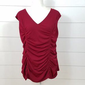 New City Chic Ruched Top Plus Size 24